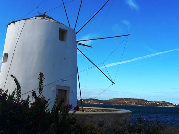 Sailing and cycling Cyclades holiday, Greece
