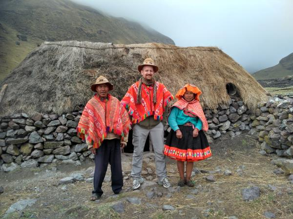 Peru trekking holiday, Lares