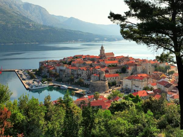 Croatia cruise, Dalmatian islands and towns