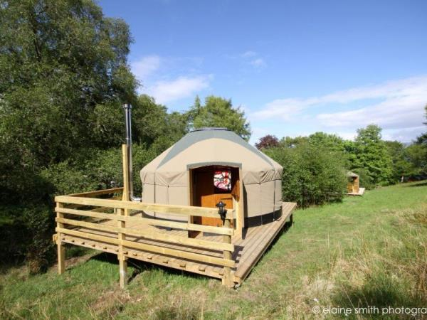 Scottish Highlands holiday with yurt accommodation