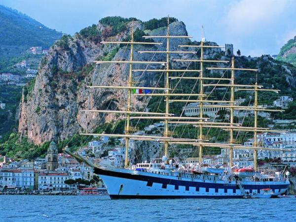 Amalfi and Sicily sail ship cruise