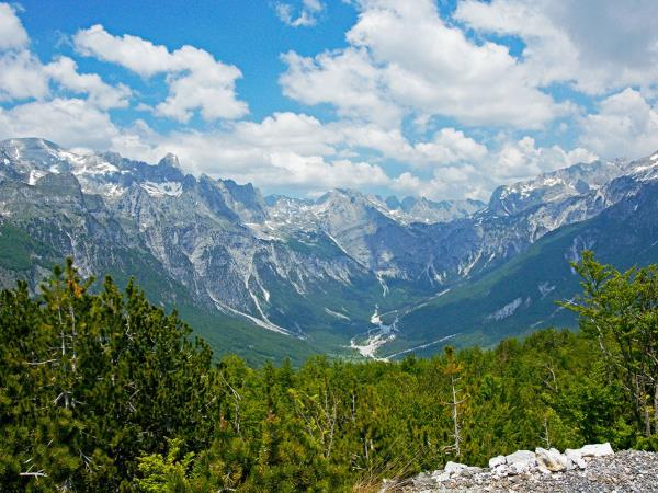 Montenegro to Albania active holiday