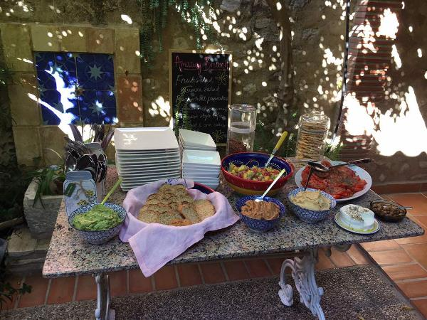 Yoga and conscious cooking holiday in Spain