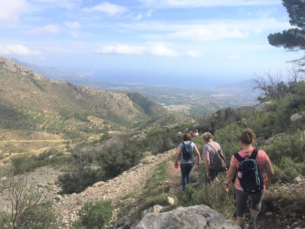 Yoga and walking holiday in Spain
