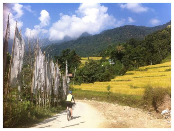 Sikkim cycling tour, India