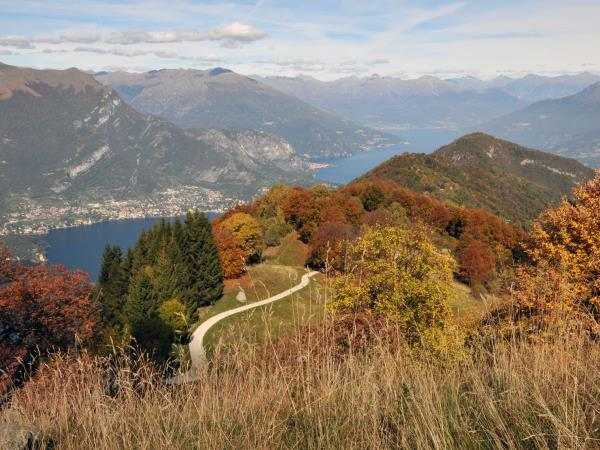Lake Como summits walking holiday, Italy