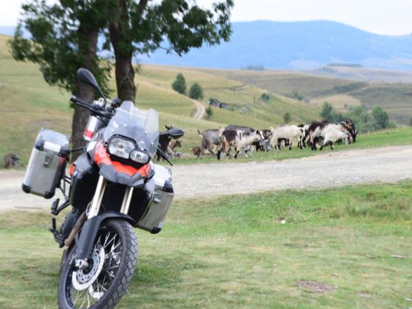 Motorbike tours in Romania