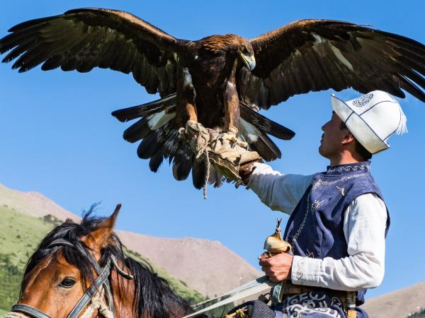 Kyrgyzstan tour & World Nomad Games Sep 2018