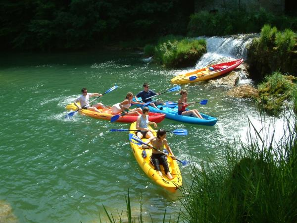 Croatia river kayaking holiday