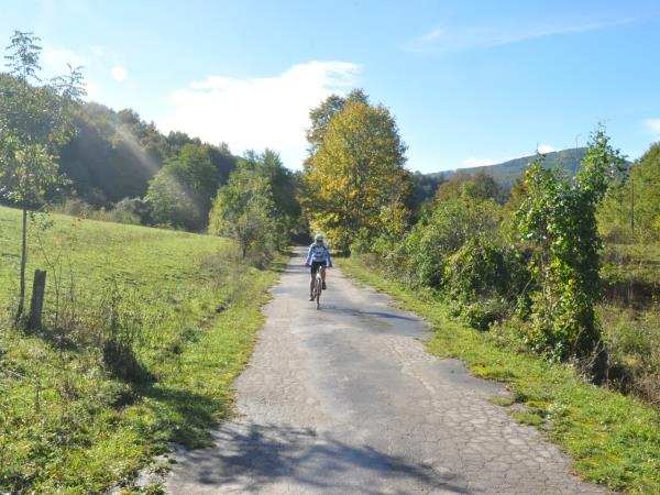 Croatia National parks cycling holiday