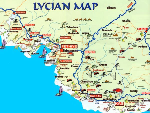 Walking holiday in Turkey, along the Lycian Way
