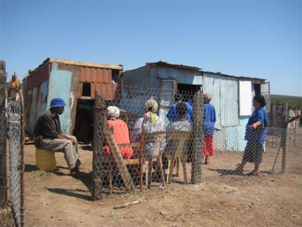 Community health care in South Africa