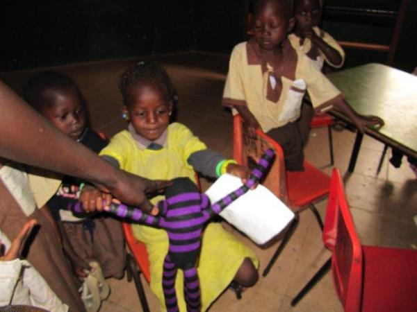 Education volunteering in The Gambia