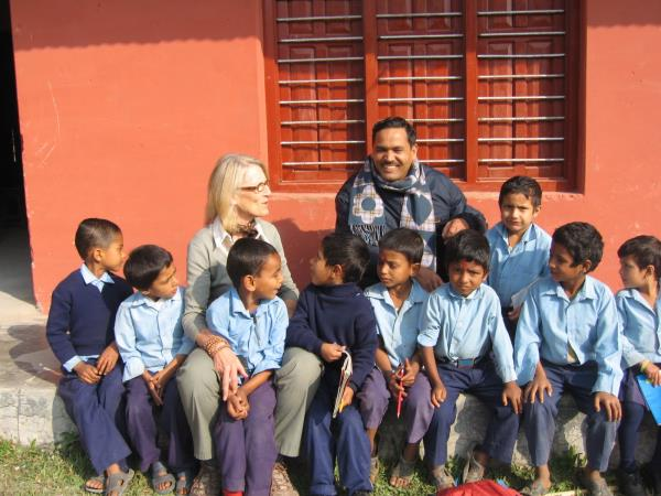 Education development projects in Nepal
