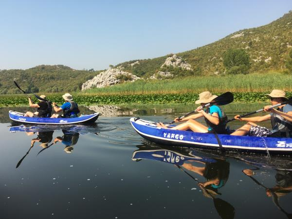 Montenegro and Croatia kayaking holiday