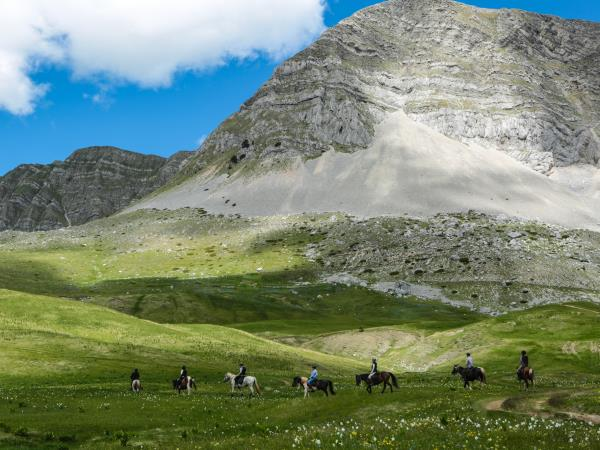 Wilderness riding holiday in Montenegro