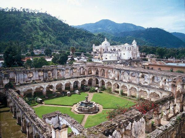 Culture and food in holiday Guatemala