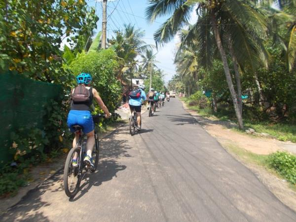 Backroads of Kerala cycling tour, India