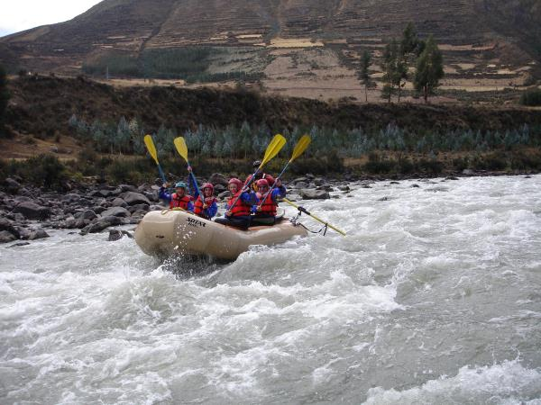 White water & wildlife holiday in Peru
