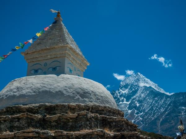 Trekking with Sherpas  in the Everest region