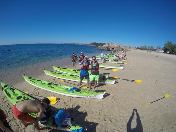 Kayaking the Camino de Santigo sea route, Spain