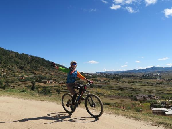 Madagascar cycling tour