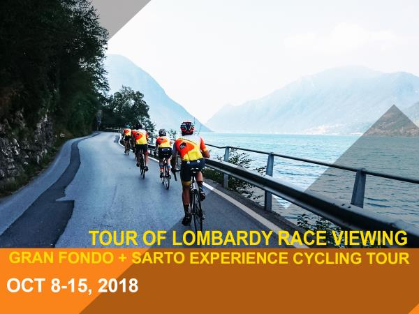 Challenging Lombardy cycling holiday