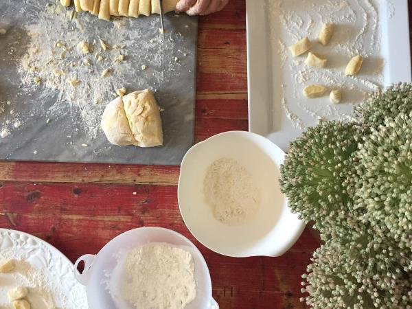 Italian cooking holiday, small group