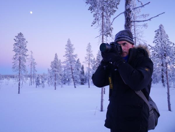 Swedish Lapland Christmas holiday
