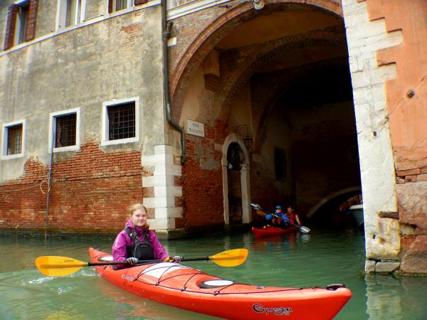 Venice kayaking holiday