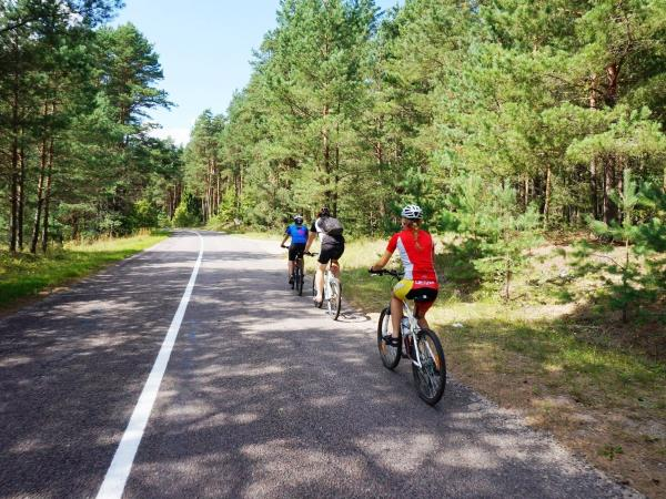 The Baltics cycling holiday