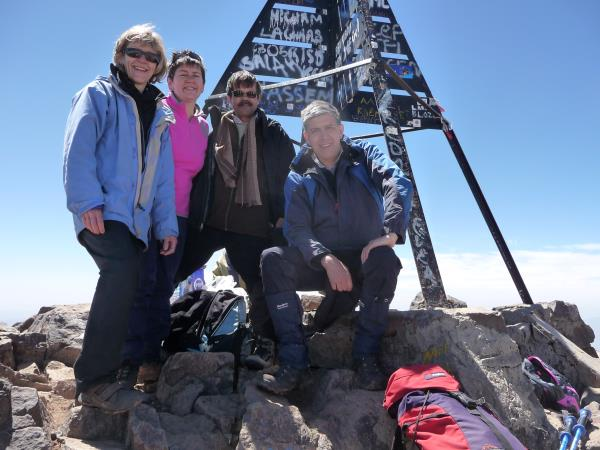 Climb Mount Toubkal in style