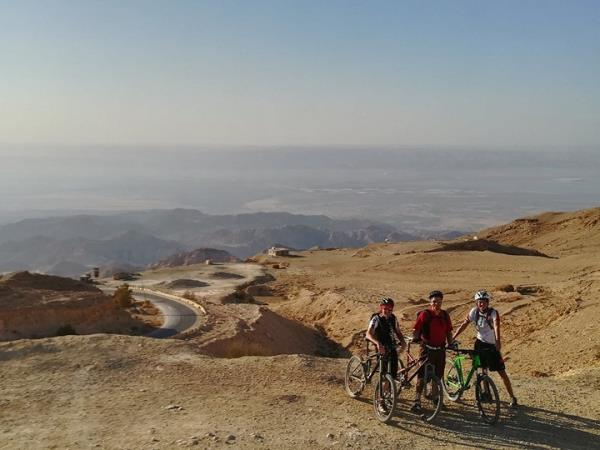 Jordan small group cycling holiday