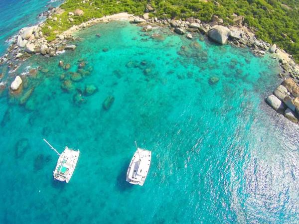 Yacht charter in the British Virgin Islands, families