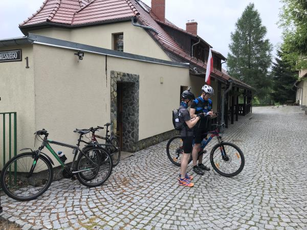 Single track cycling holiday in Poland