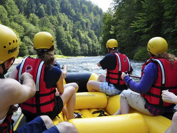 Slovakia bike hike and raft holiday