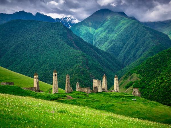 North Caucasus holiday in Russia