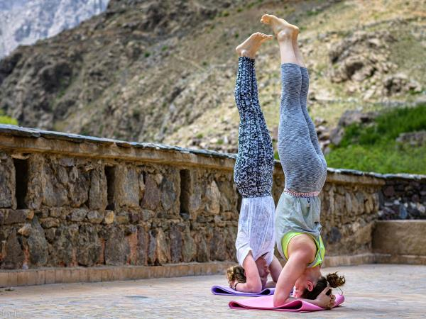 Morocco yoga holiday, summer yoga at the kasbah