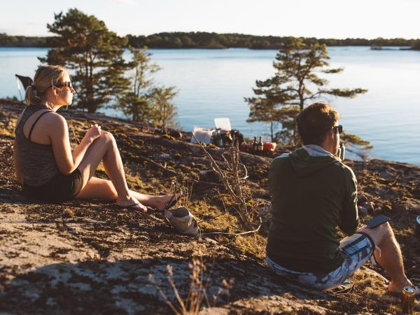 Sweden kayaking and camping holiday