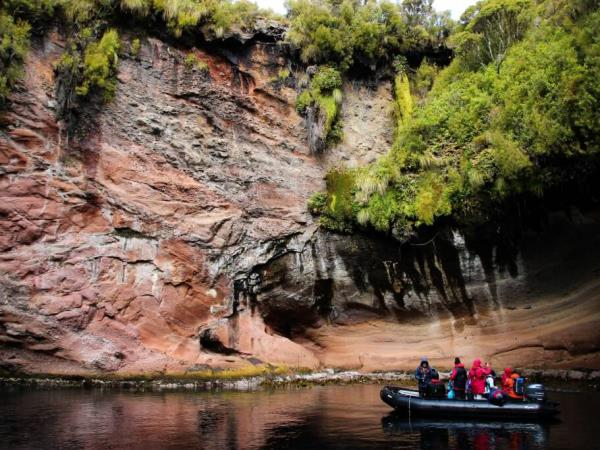 New Zealand wildest Island cruise, inc Stewart Island