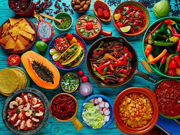 Mexican food holiday, tailor made