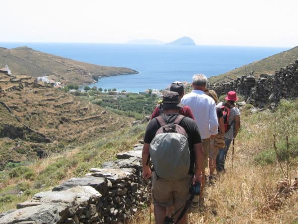 Kythnos nature walking holiday in Greece