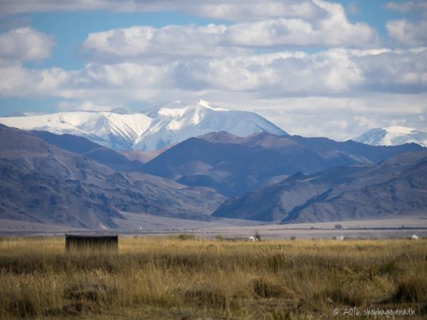 Mongolia wilderness trek in the Altai Mountains