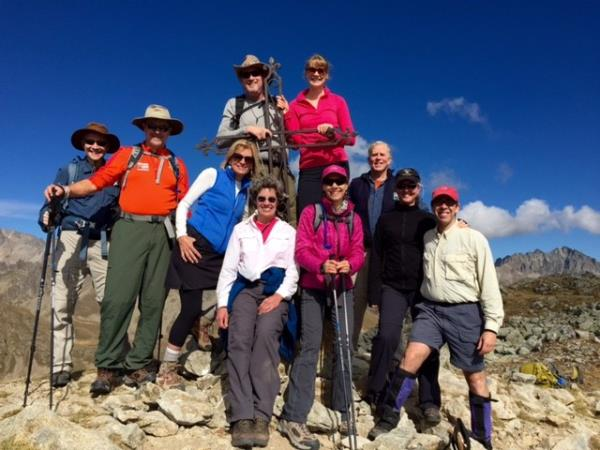 Mercantour walking holiday, the grand traverse