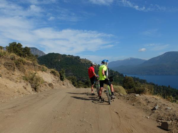Cycling the Lake District of Chile and Argentina