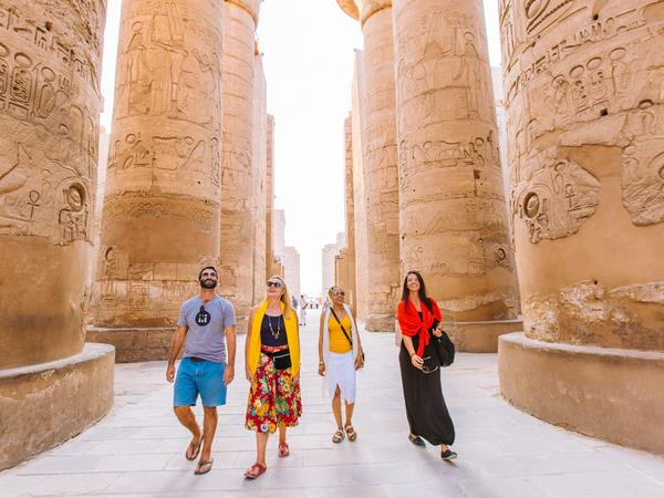 Under 30's holiday to Egypt
