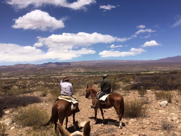 Salta Valley horseridng holiday in Argentina