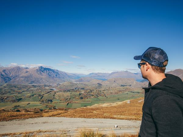 Cycling holiday in New Zealand