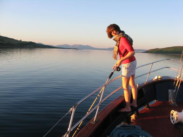 Caledonian Canal Art Cruise in Scotland