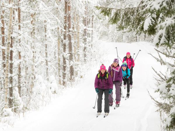 Cross-country skiing holiday in Finland